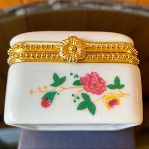 Other - Porcelain Trinket Gift Box